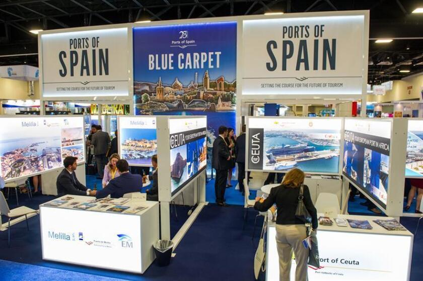 Puertos de España presume de su fortaleza turística en feria de cruceros