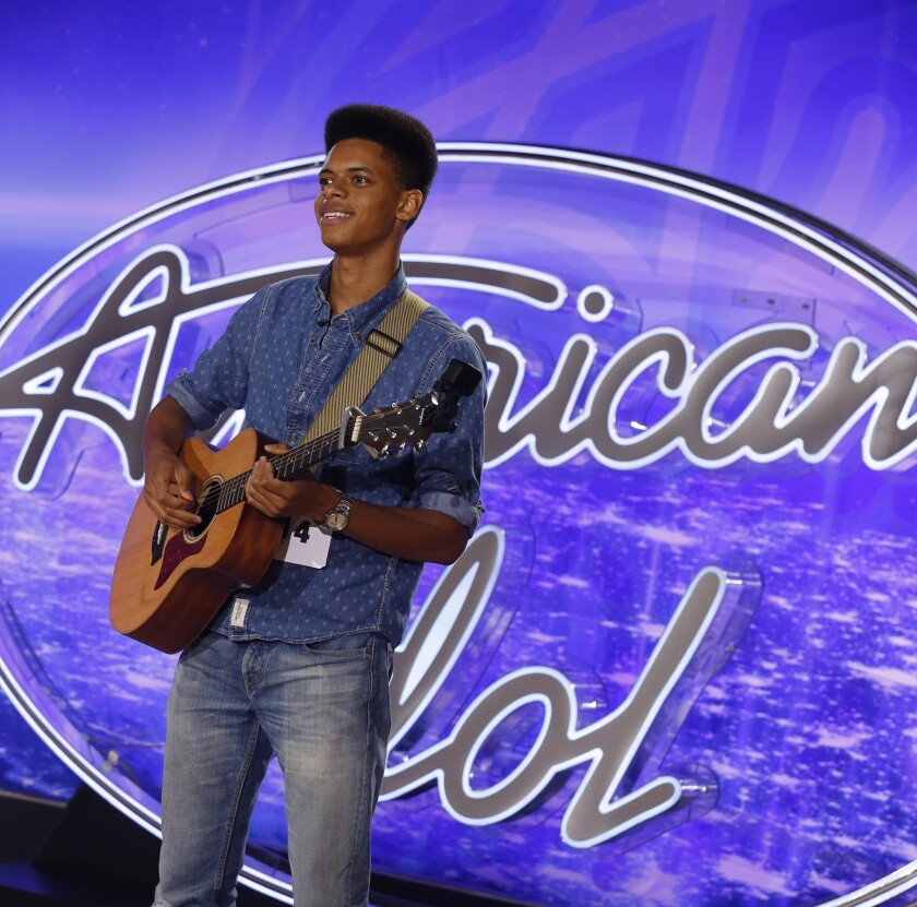 Zach Person auditions for 'American Idol.'