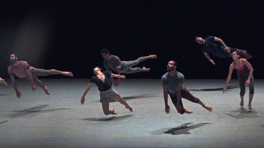 BEVERLY HILLS, CA. Mar. 28, 2019. Malpaso Dance, Cuba's hottest contemporary dance company in a pr