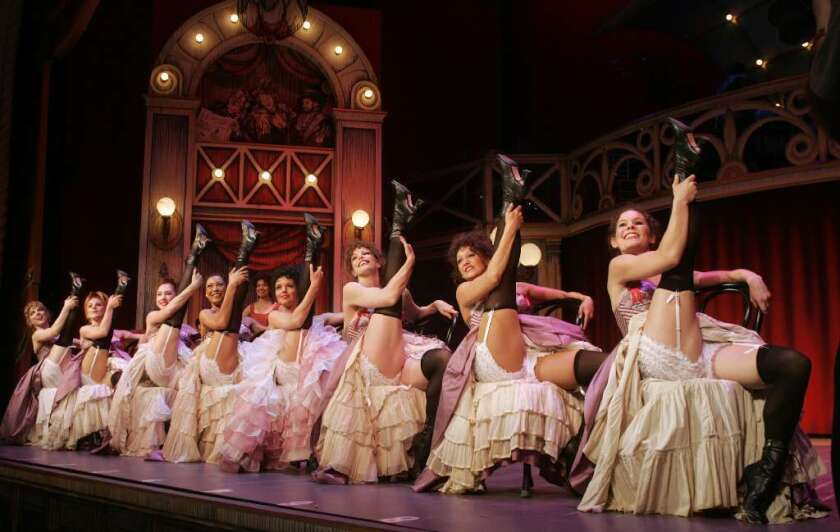 "A scene from the 2007 revival of Cole Porter's ""Can-Can"" at the Pasadena Playhouse."