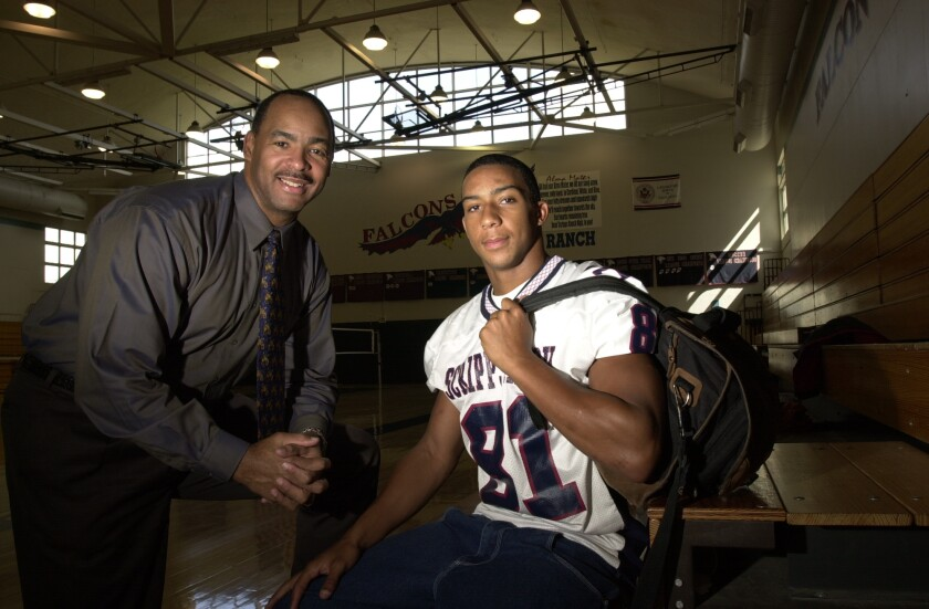 Kellen Winslow Sr. and Jr.