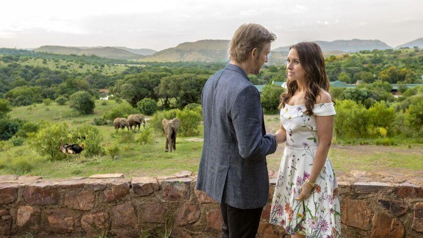 Hallmark Channel Love On Safari Lacey Chabert Jon Cor