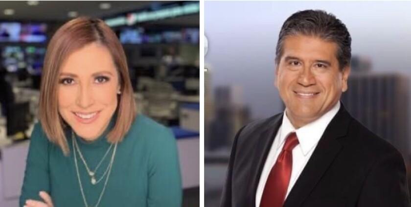Los periodistas Ana Patricia Candiani y Martín Plascencia fueron separados de la filial de Telemundo en Los Ángeles.