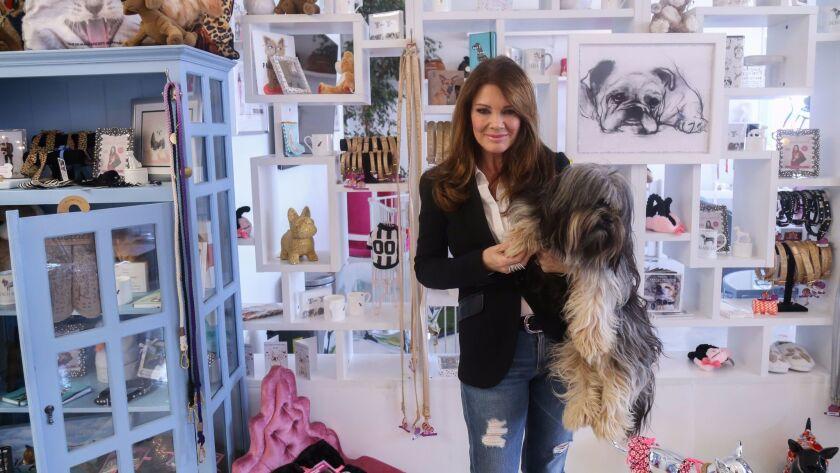Lisa Vanderpump at Vanderpump Dogs in Los Angeles.