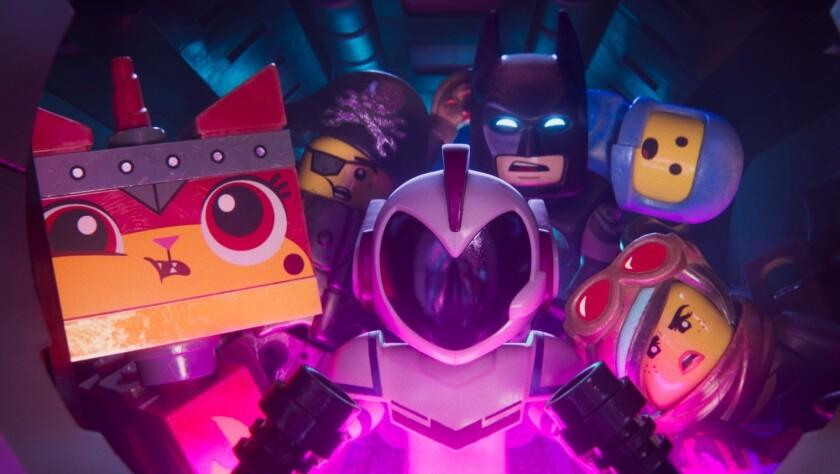 """Una escena de """"The LEGO Movie 2"""", la nueva cinta animada que se encuentra ya en las salas locales."""