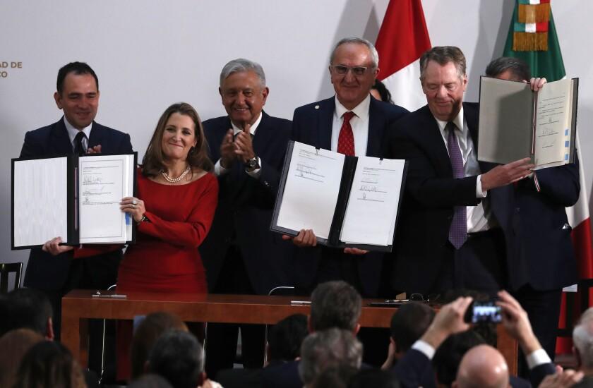 U.S.-Mexico-Canada trade accord