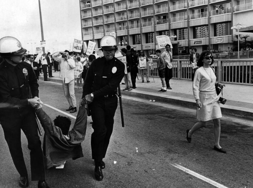 Anti-Vietnam War protests