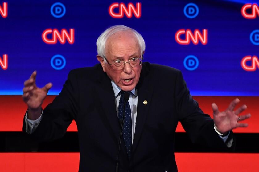 Moderates target liberals at Democratic debate