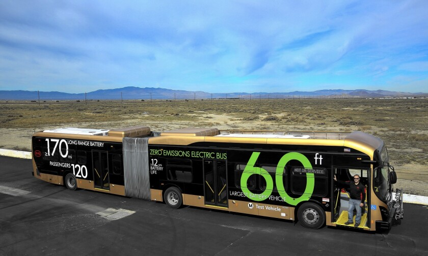 L.A.'s extra-long buses