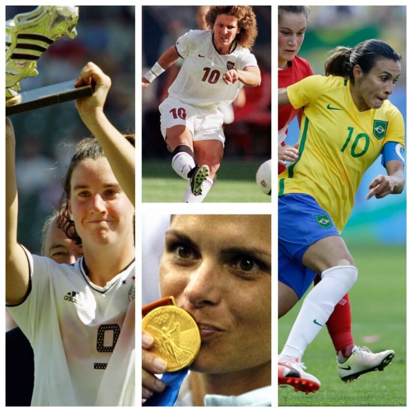 Top 10 de mejores futbolistas