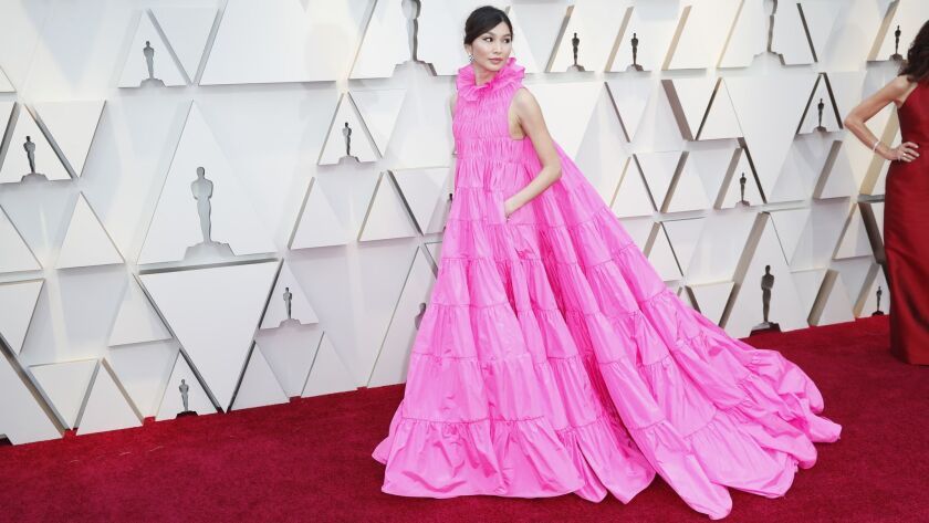 HOLLYWOOD, ?CA ? February 24, 2019 Gemma Chan during the arrivals at the 91st Academy Awards on Sund