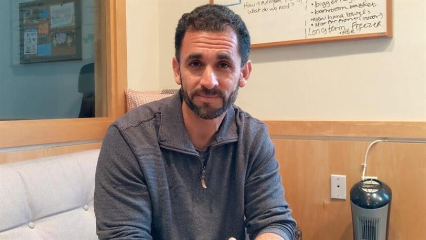 El exconvicto identificado como Richard posa durante una entrevista con Efe el 14 de febrero de 2019 en San Francisco, California (EE.UU.). EFE