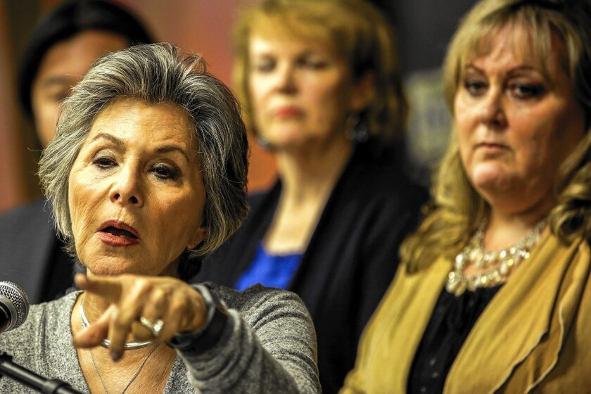 U.S. Sen. Barbara Boxer discusses the effects of the Aliso Canyon natural gas leak on Porter Ranch.