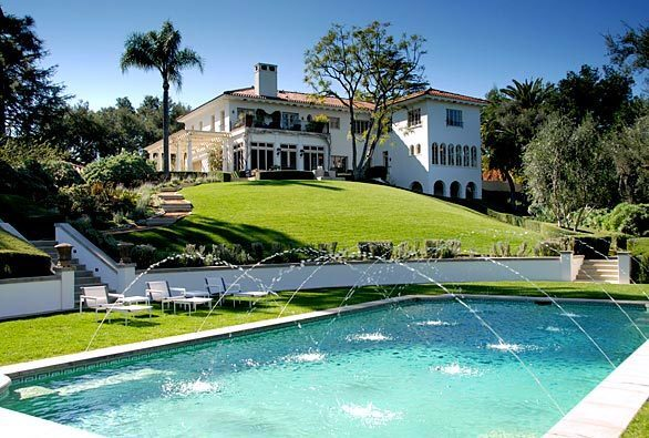 The Cecil B. DeMille estate in Los Feliz