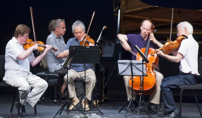La Jolla Music Society's SummerFest provides opportunities to watch world-class musicians during free-and-casual rehearsals around town.