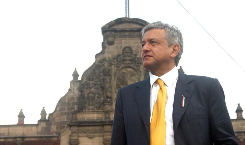 Andrés Manuel López Obrador, candidato presidencial mexicano por el partido Morena.