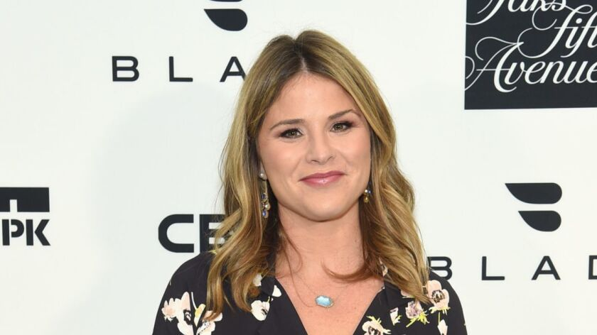 """Jenna Bush Hager, shown Jan. 25, will be Hoda Kotb's co-host in the 10 a.m. hour of the """"Today"""" franchise."""