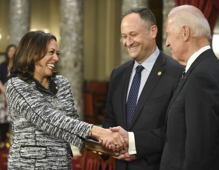 Skelton In Harris Biden S Vp Pick Hails From Most Diverse State Los Angeles Times