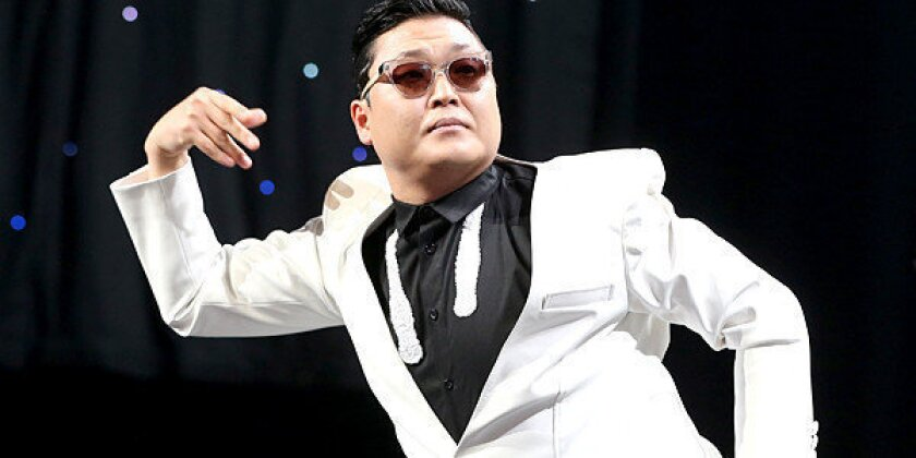 YouTube's top 10 viral videos of 2012 have 'Gangnam Style'