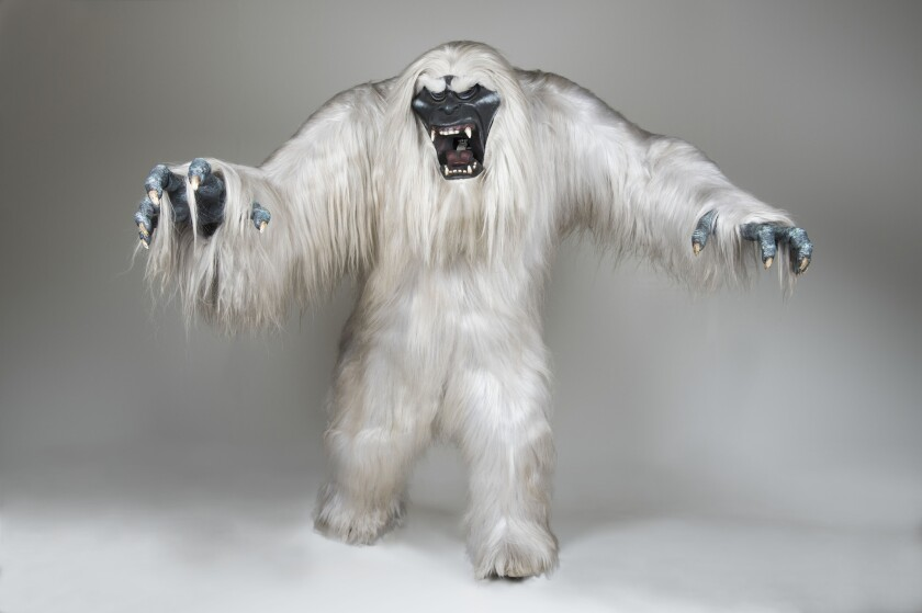 The original animatronic Abominable Snowman, created for the Matterhorn, will be shown at D23.
