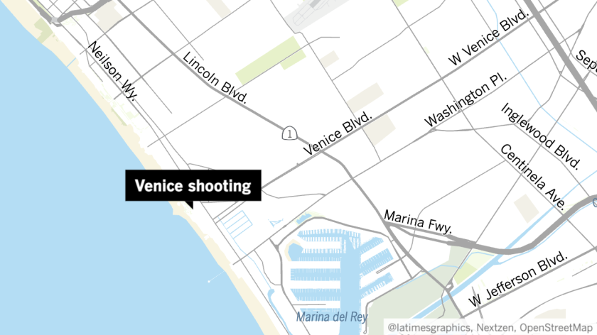 Police are looking for four men suspected in a shooting Tuesday that killed one woman.