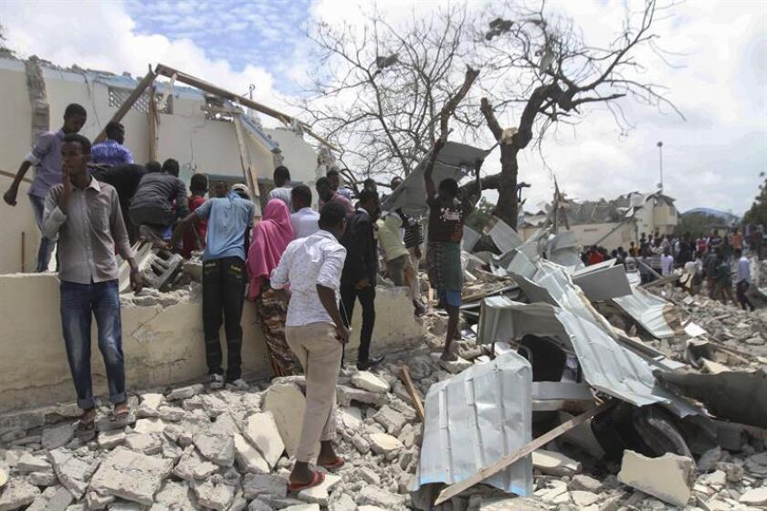 Las Fuerzas Armadas del país abatieron el jueves a 26 presuntos terroristas del grupo yihadista Al Shabab durante un bombardeo en Somalia, informó hoy el mando militar para África (Africom). EFE / Archivo