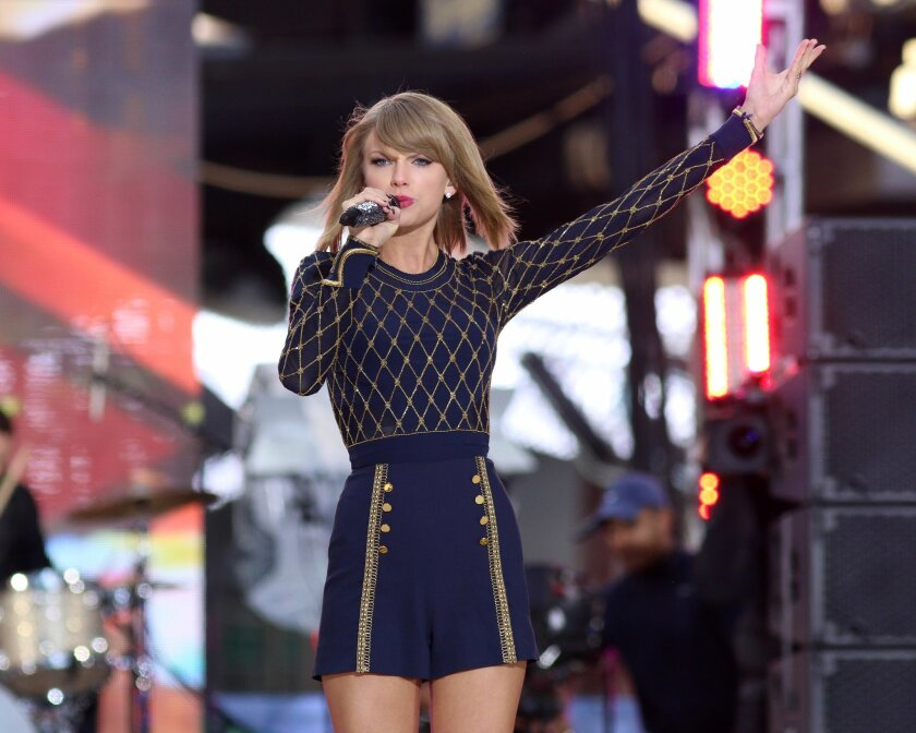 Taylor Swift Has Announced The Dates For Her 2015 World 1989 Concert Tour The San Diego Union Tribune