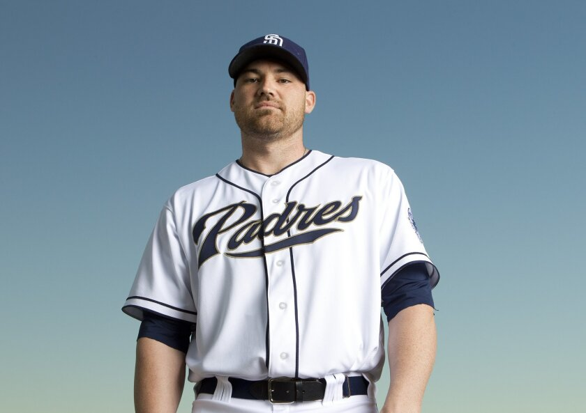 Sean O'Sullivan with the 2013 San Diego Padres.