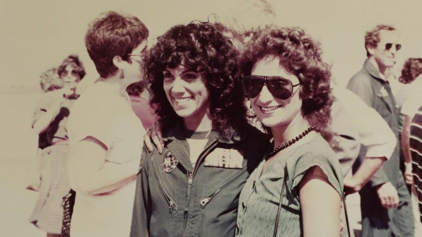 Judy Resnik and Syvia Stottlemyer