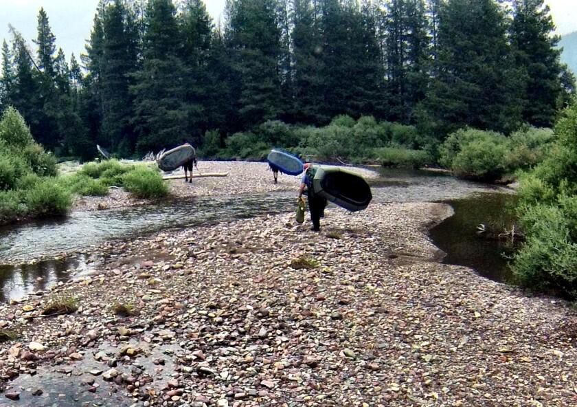 Youngs Creek in Montana