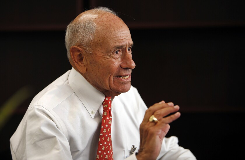L.A. schools Supt Ramon C. Cortines, 82, has agreed to stay on another year with the nation's second-largest school system.