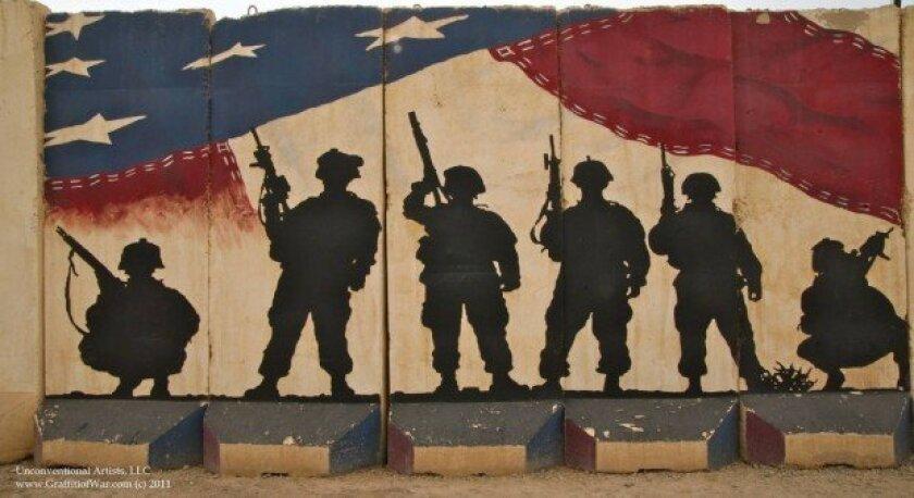 MILITARY: Oceanside native collecting U S  troop graffiti