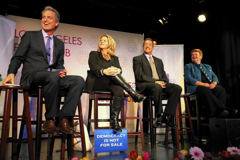 Supervisorial candidates debate