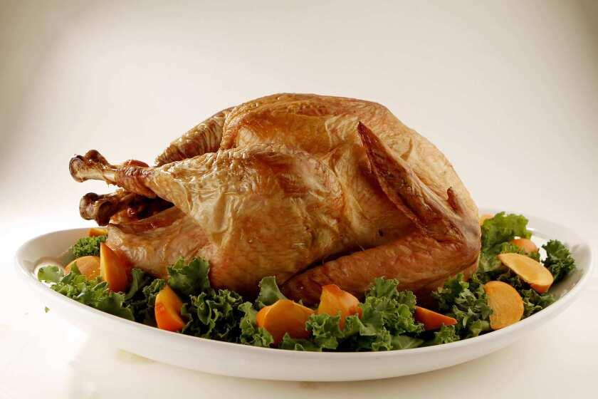Dry-brined turkey.