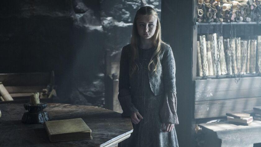 Shireen Baratheon (Kerry Ingram), a light extinguished too soon.