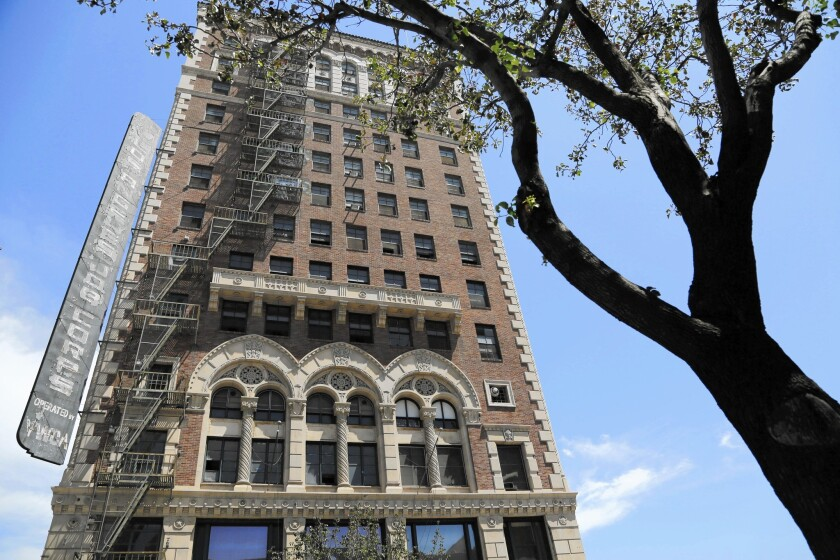 The former Case Hotel in downtown Los Angeles is being converted to a boutique hotel called the Proper. Downtown's hotel market is thriving after years of mediocre performance.