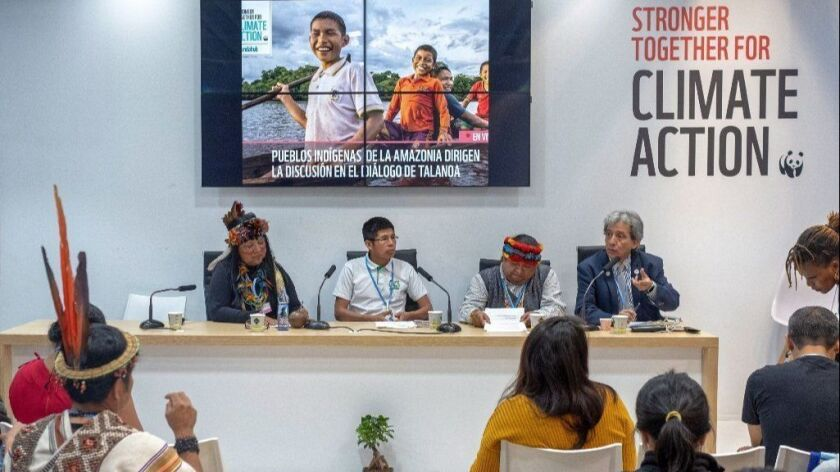 COP24 summit on climate change in Katowice, Poland - 05 Dec 2018