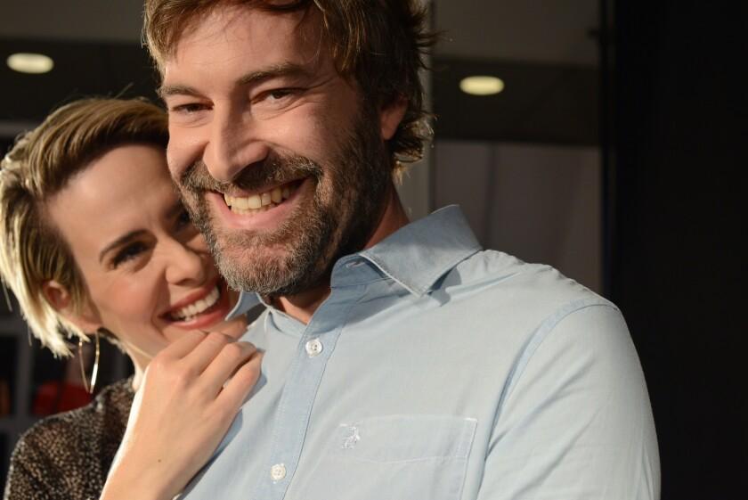 Sarah Paulson and Mark Duplass