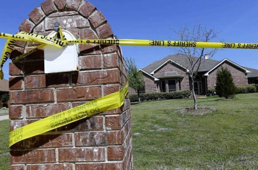 Fired official investigated in Texas prosecutors' deaths