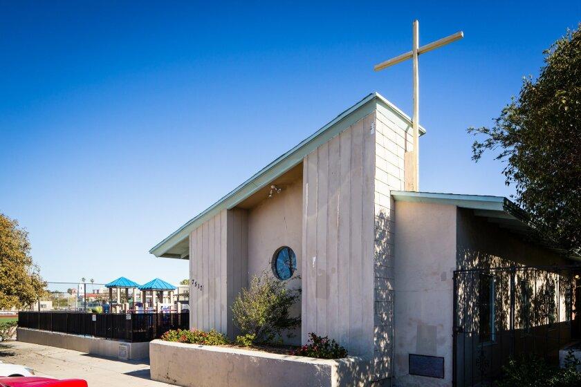 Prince Chapel by the Sea African Methodist Episcopal Church, 7517 Cuvier St., La Jolla.