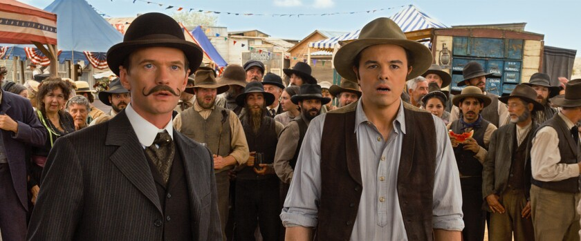 """Seth MacFarlane's R-rated Western comedy, """"A Million Ways to Die in the West,"""" fell short of expectations at the box office this weekend, grossing $17.1 million domestically."""
