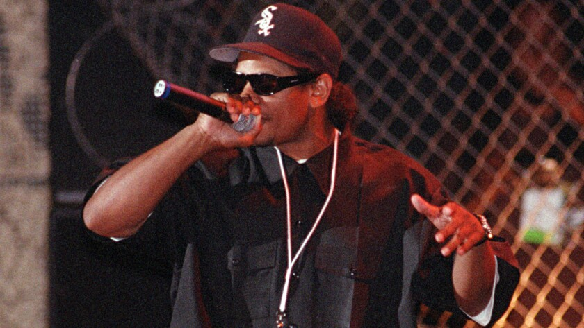 From the Archives: Obituary: Eazy-E, who put 'gangsta-rap