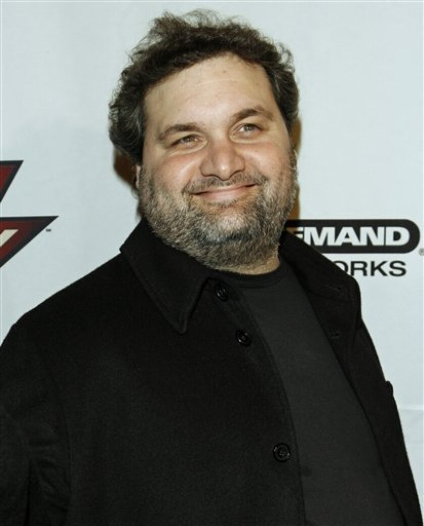 FILE - This Thursday, April 27, 2006 picture shows comedian and actor Artie Lange, from the Howard Stern radio show at the inaugural Howard Stern 2006 Film Festival in New York. (AP Photo/Stuart Ramson)