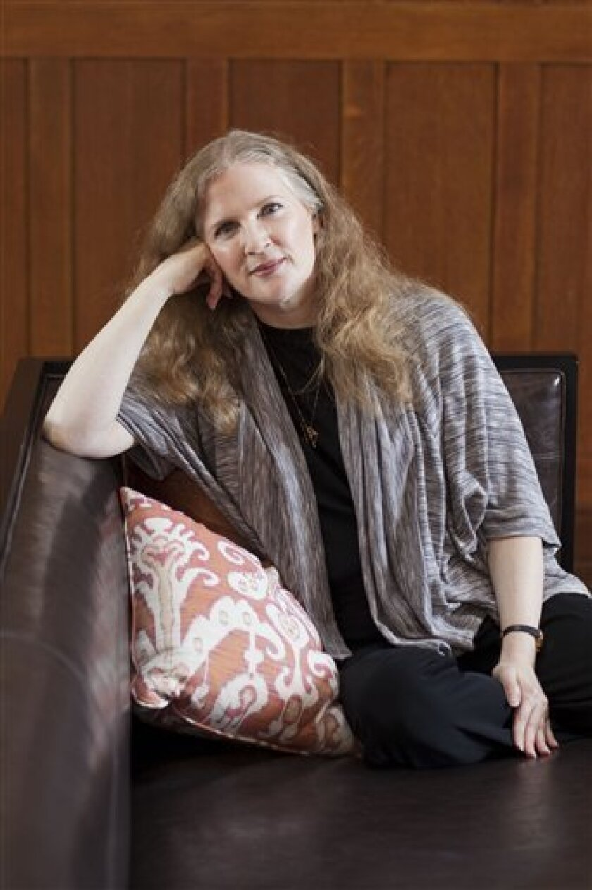 Suzanne Collins Completes The Hunger Games The San Diego Union