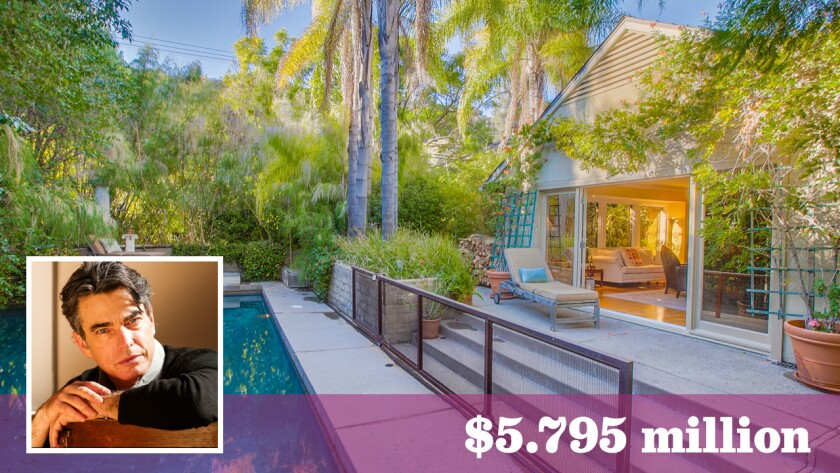 The Brentwood home of actor Peter Gallagher is on the market for $5.795 million.