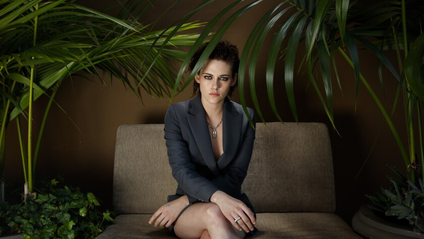 "Kristen Stewart, whose new film is ""Personal Shopper,"" at the Four Seasons Hotel in Los Angeles."