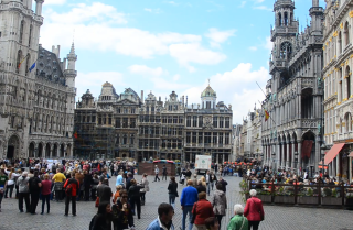 A Minute Away: Grand Place, Brussels