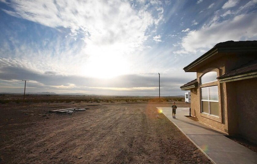 Pollution issue divides desert town as deadline nears
