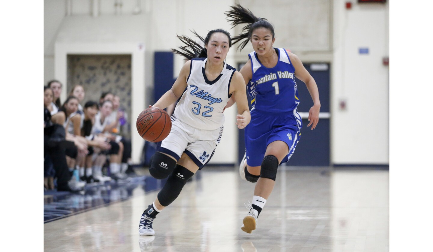 Photo Gallery: Fountain Valley vs. Marina in girls' basketball