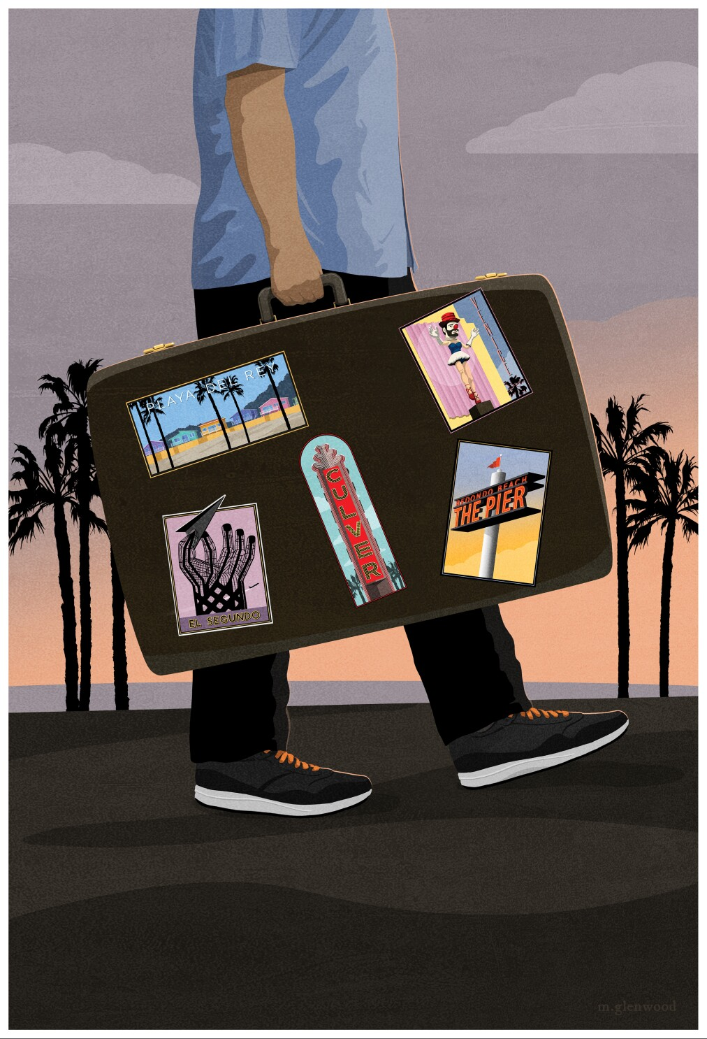 Living in L.A., one Airbnb at a time
